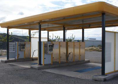 Equipamientos Centro de lavado de vehículos