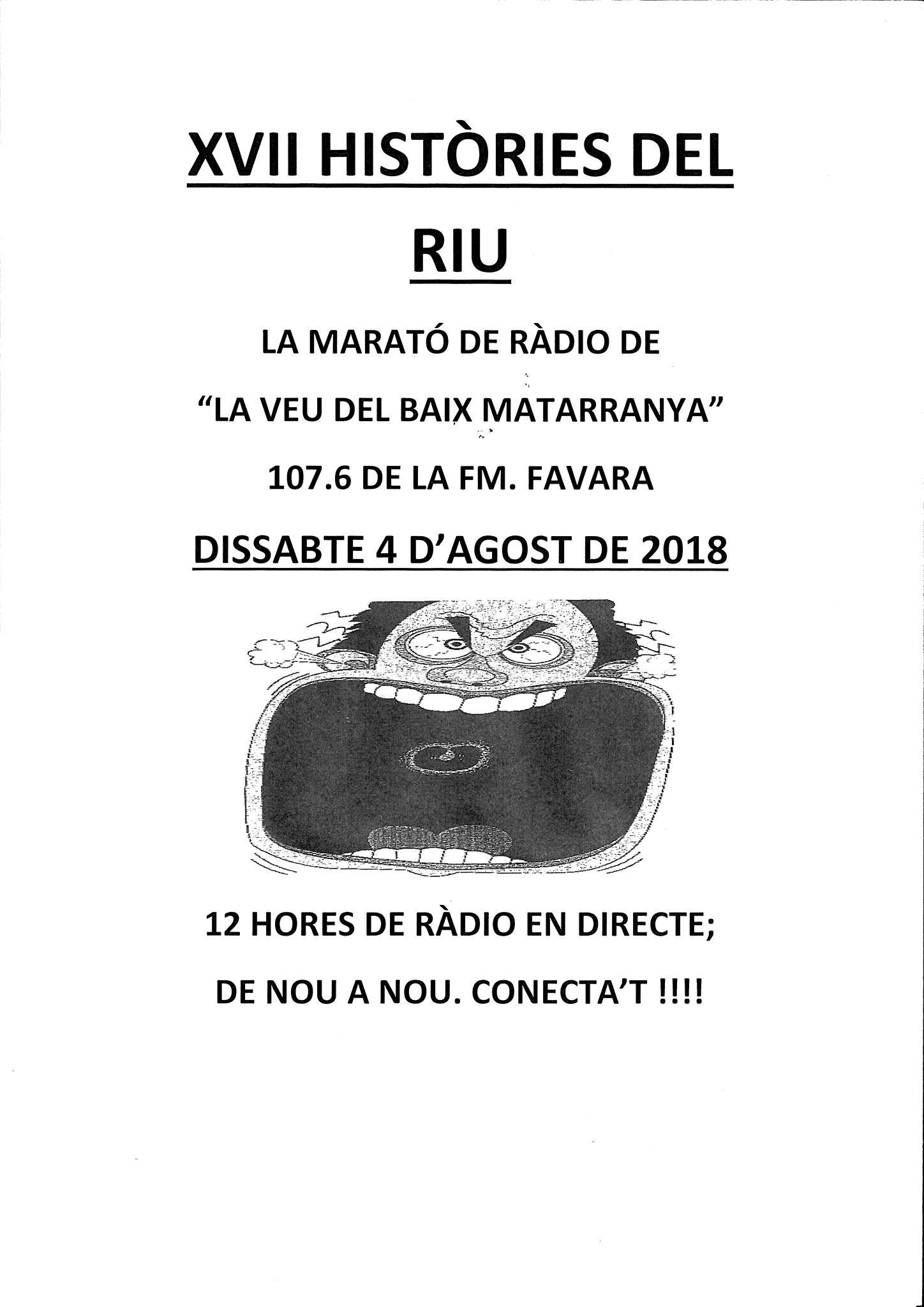 XVII HISTÒRIES DEL RIU