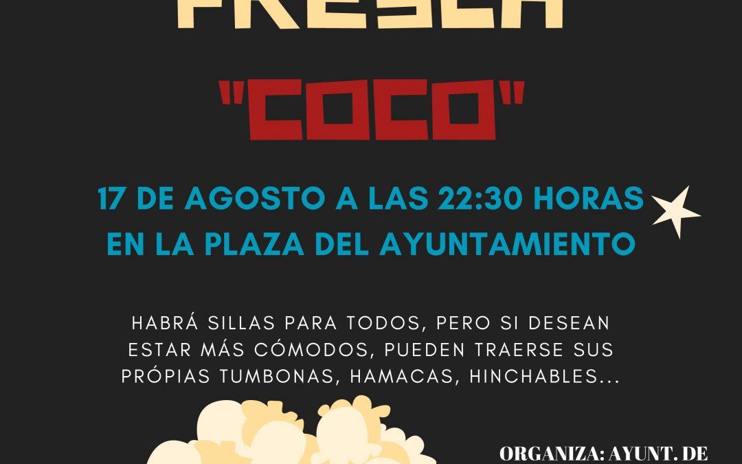 CINE A LA FRESCA «COCO»