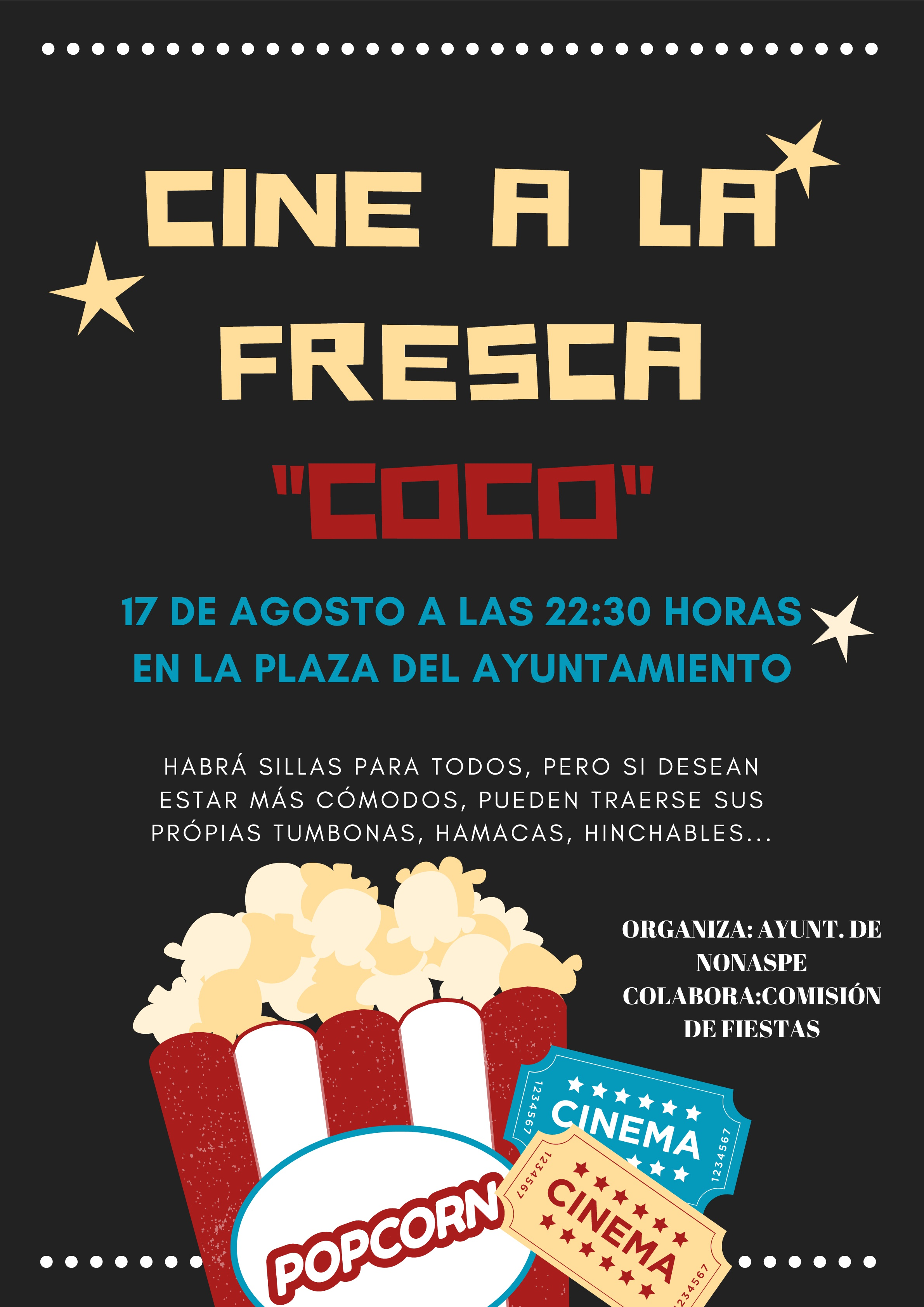 """CINE A LA FRESCA """"COCO"""""""