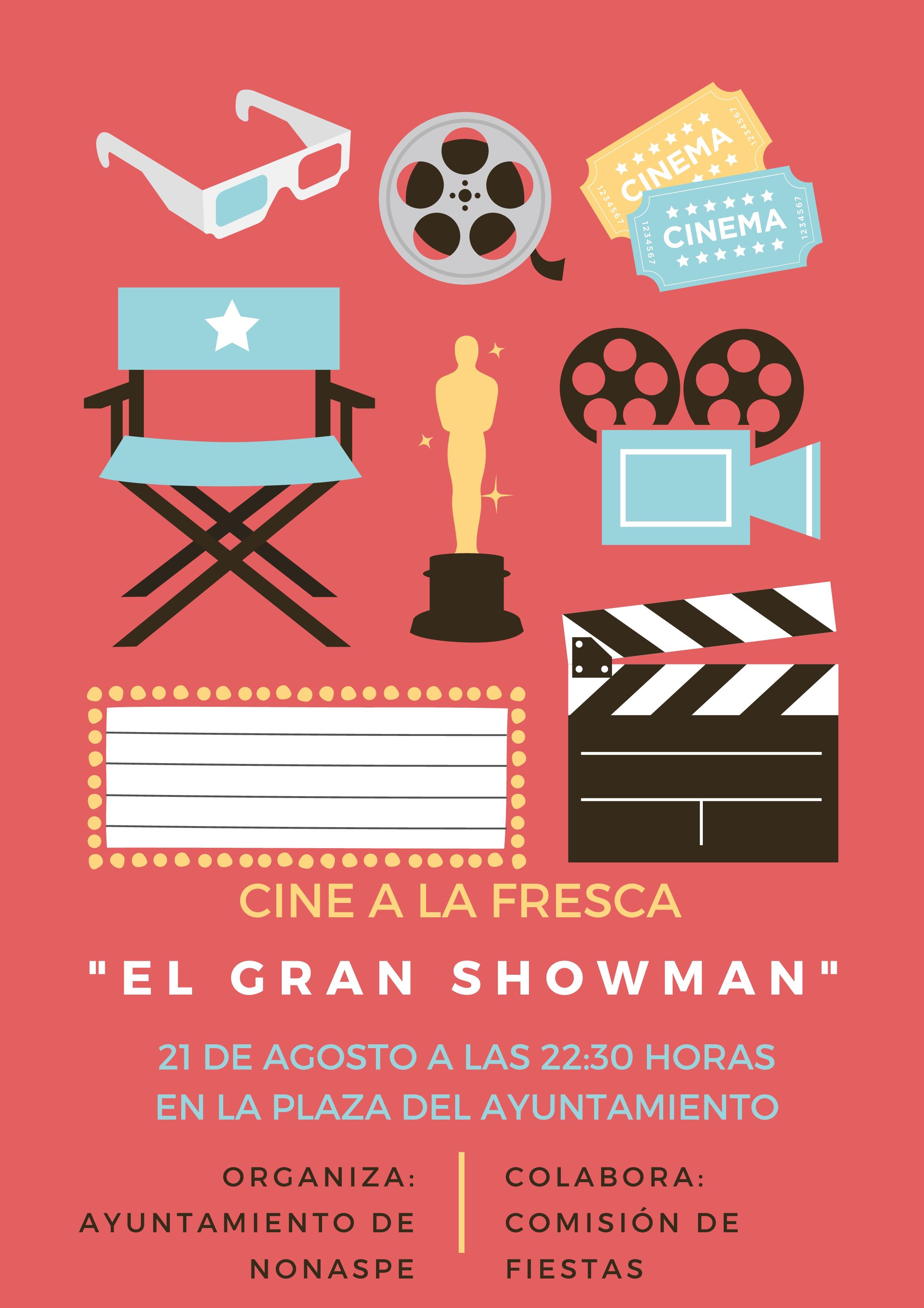 "CINE A LA FRESCA ""EL GRAN SHOWMAN"""