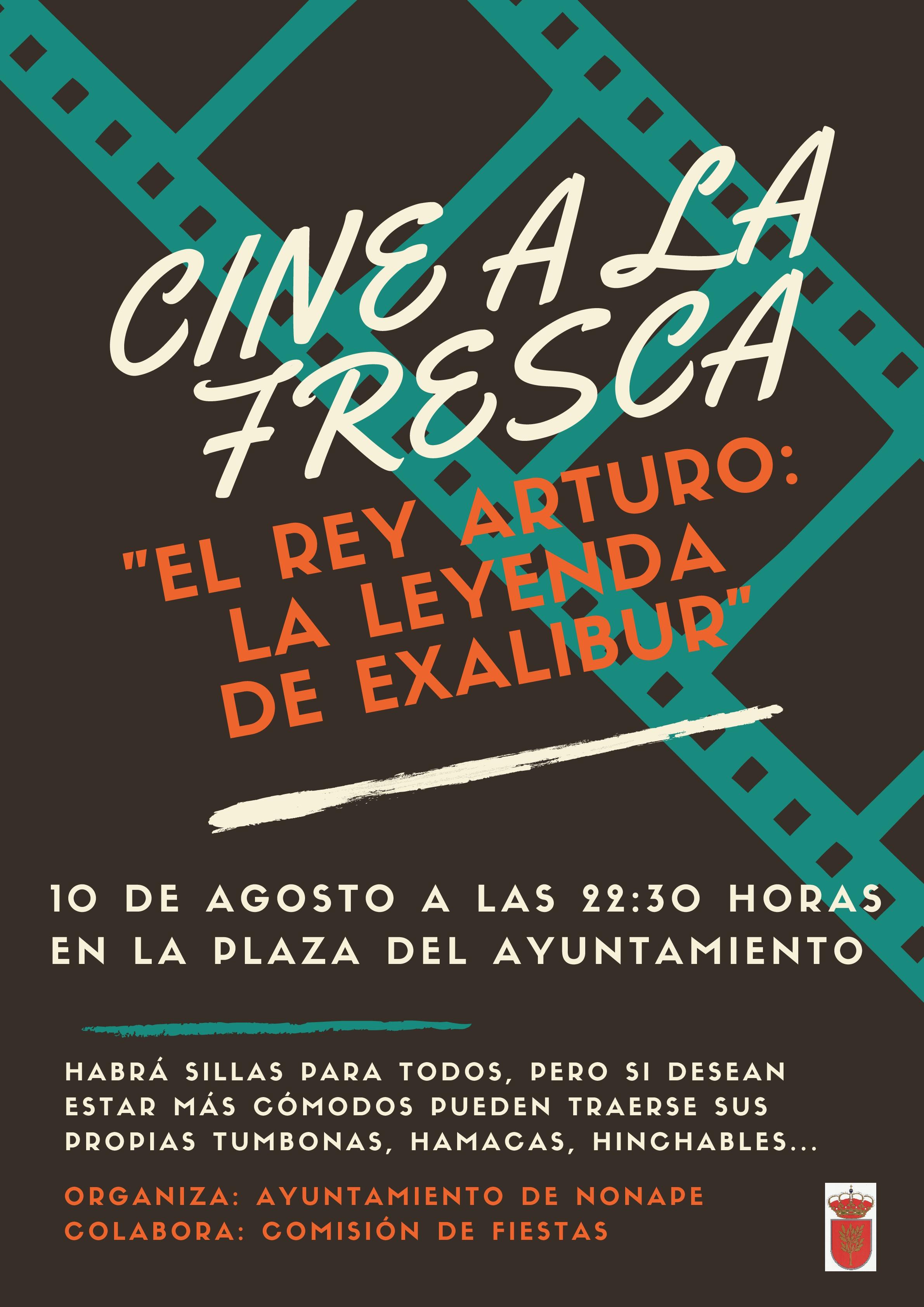 """CINE A LA FRESCA """"EL REY ARTURO: LA LEYENDA DE EXALIBUR"""""""