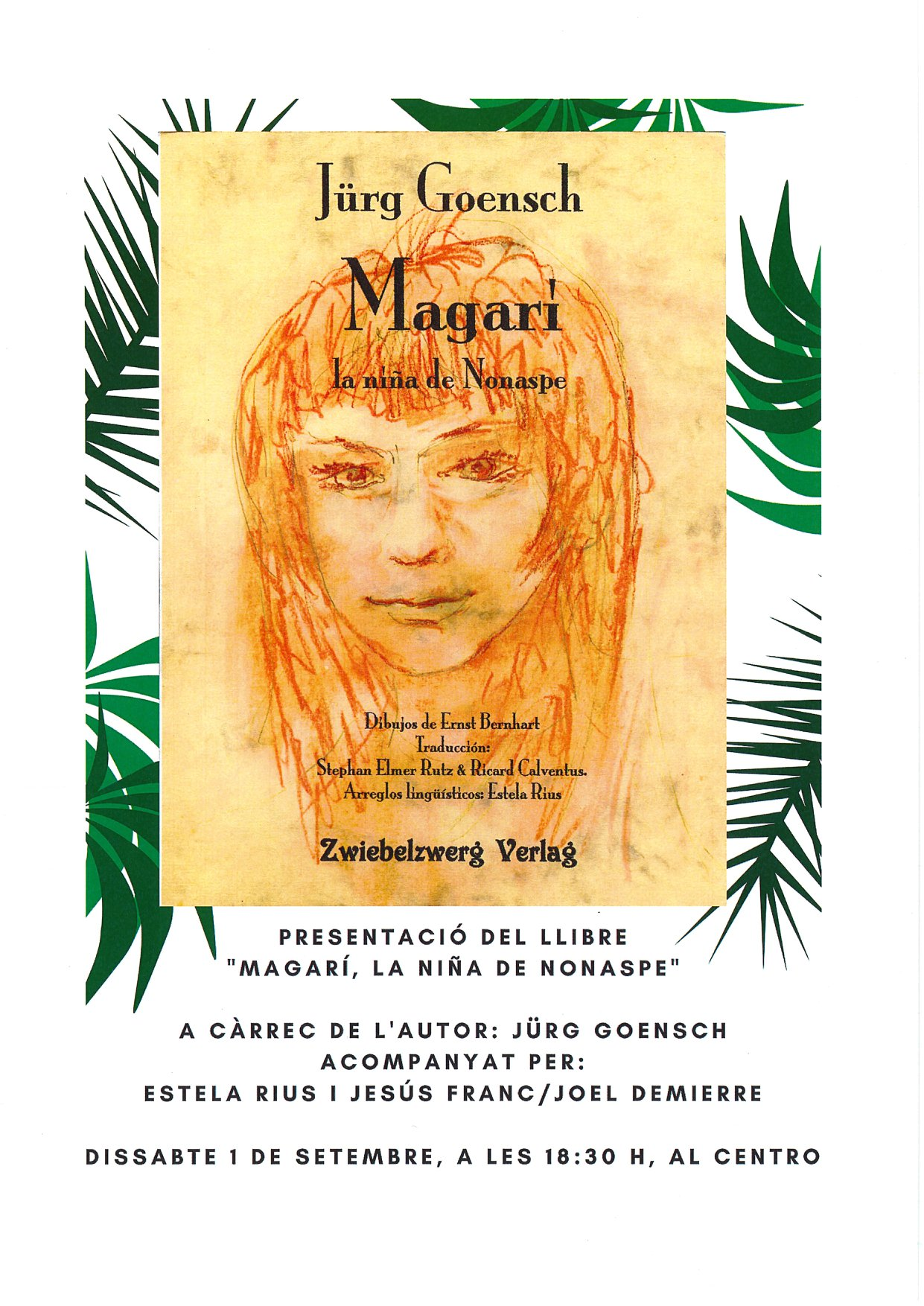 "Presentación del libro ""Magarí, la niña de Nonaspe"""