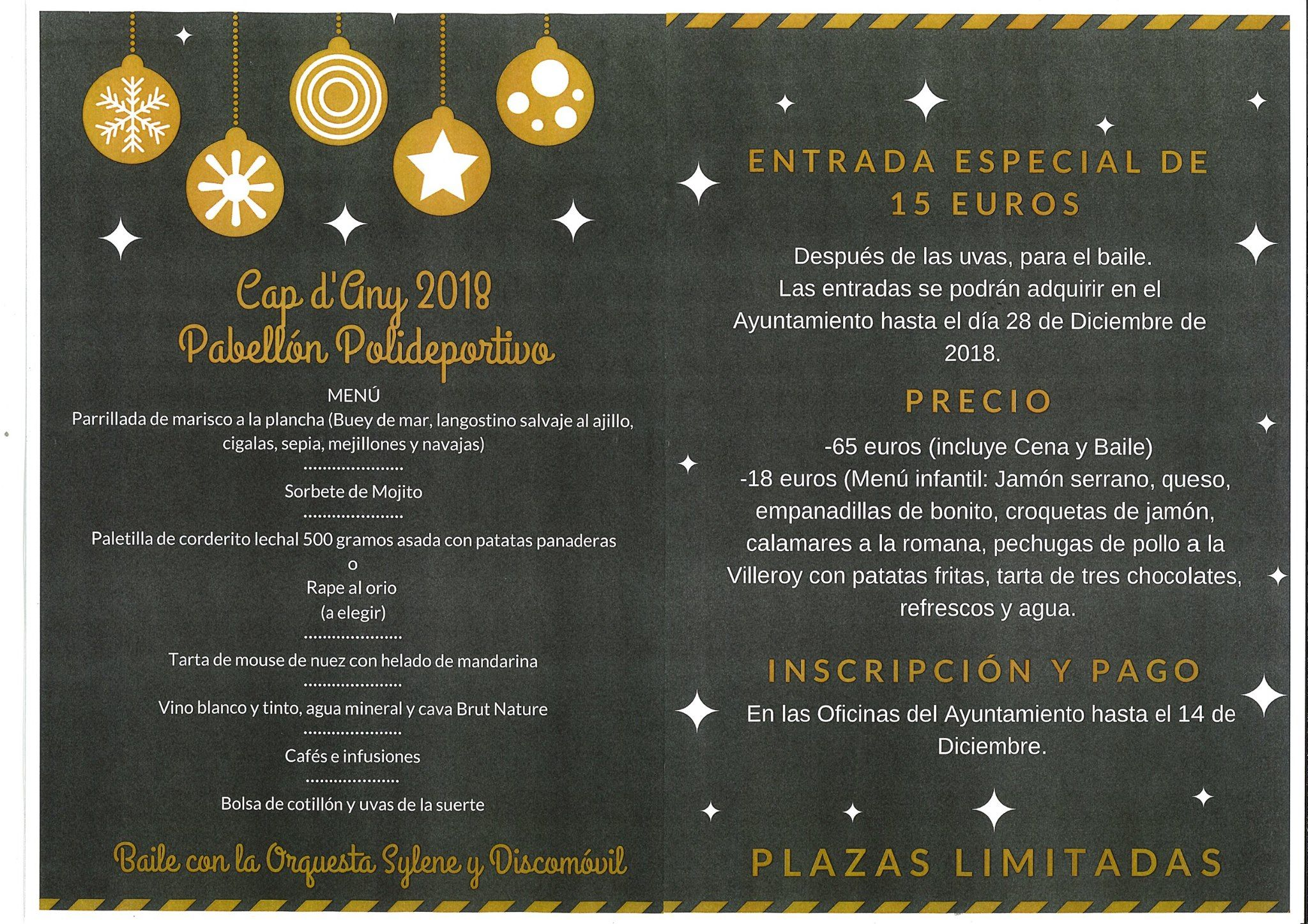 CAP D'ANY 2018 Pabellón Polideportivo