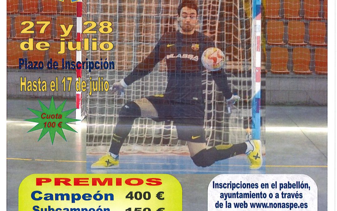 XXI HORAS FUTBOL SALA NONASPE 2019